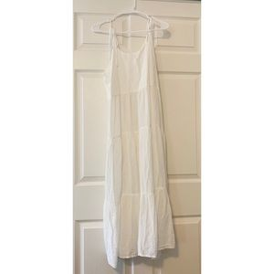 LOVE Gap White Midi Dress- NWOT